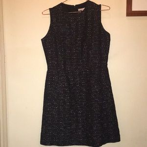 Adorable black and gold speck dress